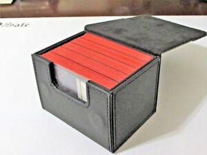 PRO SAFE Black Sidewinder 100+ Deck Case Side Loading Card Box - FREE SHIPPING!