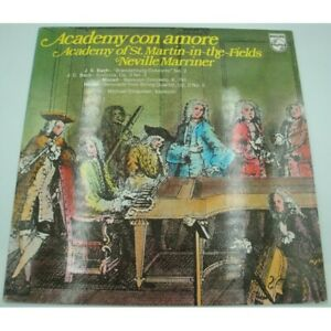 MARRINER/CHAPMAN/ACADEMY OF ST MARTIN IN THE FIELD academy con amore BACH/MOZART