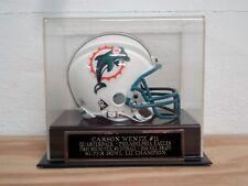 Football Mini Helmet Case With A Carson Wentz Philadelphia Eagles Nameplate