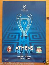More details for 2007 champions league final programme *(liverpool v ac milan)* (23/05/2007)