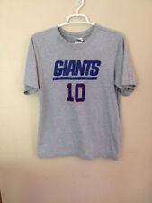 NFL Giants Manning T-Shirt Shirt # 10 Size 16 / 18 Boys