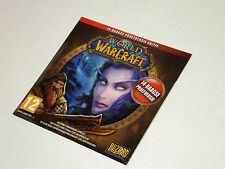 WORLD OF WARCRAFT brand new promo factory sealed pc game