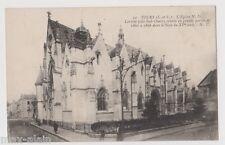 """CPA """" TOURS - L'Eglise N.D Lariche *** Animée ***"""