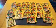 Topps Wacky  (22) Packs Stickers