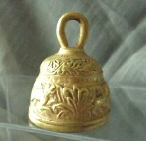 Antique Brass Bell Small Collectible