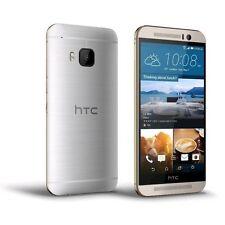 Téléphones mobiles argentés HTC One M9, 32 Go