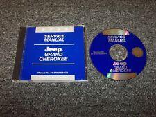 2002 Jeep Grand Cherokee Shop Service Repair Manual DVD Laredo Limited Overland