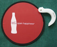 UNUSED CIRCA 2011 COCA-COLA 'OPEN HAPPINESS' HAND HELD FAN