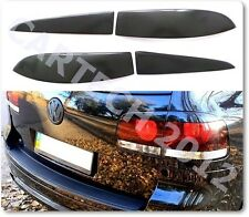 VW TOUAREQ Rear Lights Eyebrows, 4pcs ABS PLASTIC, tuning