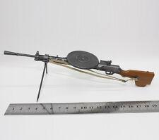 "WW2 LMG 7.62mm DP-28 Light Machine Gun 1/6 Soldier Weapon Model Fit 12"" Figures"