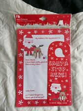 Christmas: Santa Door Sign and Letter Pack