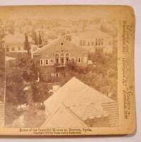 Stereoview Underwood Some Of The Beautiful Homes At Beyrout Syria Buildings (O)