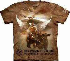 The Mountain Combat Soldiers Jason Bullard T-Shirt, XL, Brown