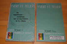 Weeda Yvert et Tellier 1993 Y&T 2-volume catalogue France & Monaco, Andorra, etc