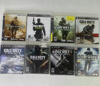 CALL OF DUTY Bundle (PlayStation 3 PS3) COD 8 Game Lot CIB Complete FAST SHIPPIN