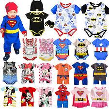 Baby Jungen Mädchen Body Overall Strampler Baumwolle Kleidung Bodysuit Romper