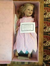Annette Himstedt's Puppen Kinder Lisa 26� Doll Barefoot Children Box Coa Euc