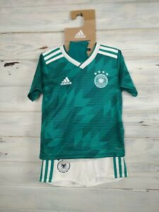 Germany Full Set Jersey Shorts Socks 2018 2019 Away Kids Boys 4-5 y Shirt Adidas