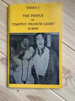 Rare Terra 1 The People Vs Timothy Francis Leary 1974 Imprinting Press SF Book