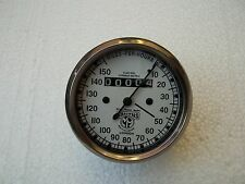 Smiths Replica Speedometer fits Royal Enfield Motorcycle 150 mph white face