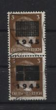 Lokalausgabe Netzschkau-Reichenbach 2 S gestempelt doppelt BPP-geprüft (B08346)