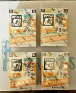 #BR33 2020 FOOTBALL OPTIC 4 BLASTER *Random* Team Live Box Break NFL