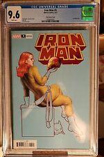 Iron Man #5 1:50 Frank Cho Variant CGC 9.6 Marvel Comics