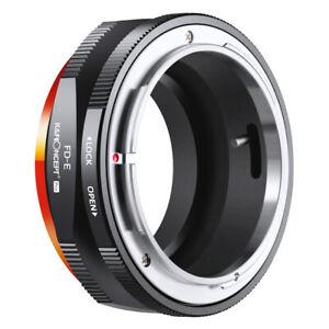 Pro K&F Concept FD-NEX Adapter Canon FD FL NFD SSC Lens Sony E / NEX (KF06.439)