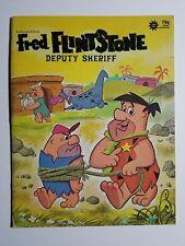"""1973 Giant Durabook - """"FRED FLINTSTONE Deputy Sheriff""""   Hanna-Barbera"""