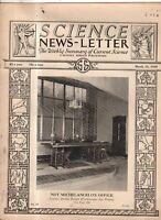 1929 Science Newsletter March 16 - Carbon Monoxide; Sharks; Wave mechanics