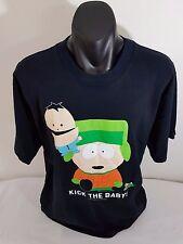 South park Men's T-Shirt Black Unisex Size XL Made in Australia %100 Cotton
