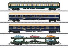 Märklin 42999 set de vagones Trenn coches DB cargado con modelismo #
