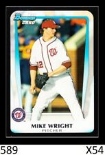 1-2011 BOWMAN DRAFT BASE MIKE WRIGHT ORIOLES QTY AVAILABLE