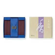 Shoyeido White River Incense 80 Sticks Shirakawa Made in Japan