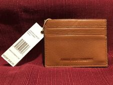 Aimee Kestenberg London Pebbled Leather Credit Card Wallet - BROWN -  NWT!