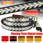 60 Truck Tailgate Strip Led Sequential Turn Signal Brake Tail Reverse Light Bar