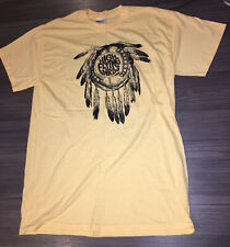 Noel Gallagher's High Flying Birds Tour T-shirt  | M |  Pastel Yellow Brand New