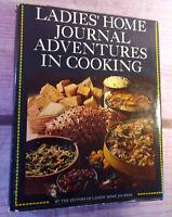 Vintage 1968 Ladies Home Journal Adventures in Cooking Cookbook Recipes Illustr