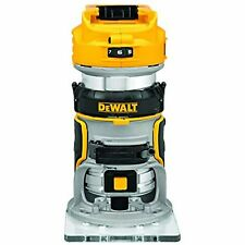 DeWalt DCW600B 20-Volt MAX XR Cordless Brushless Router - Bare Tool
