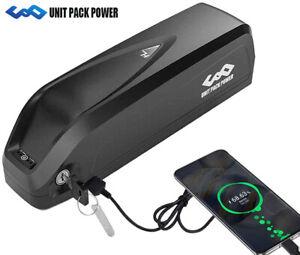 52V/48V/36V EBike Akku Elektrofahrrad Umbausatz USB Lithium Batterie 200W-1000W