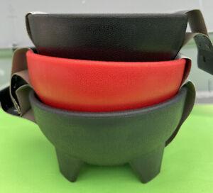 Set Of 3 Salsa Bowl Multicolor