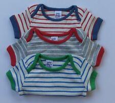 BABY BODEN 3 PACK NARROW STRIPE VESTS BODYSUIT/ BODY SHORT SLEEVED  BNWOT