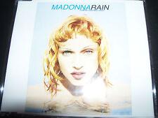 Madonna Rain Rare Australian Print 4 Track CD Single