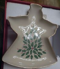 Lenox Holiday Angel Candy Dish  NEW IN ORIGINAL OPEN BOX
