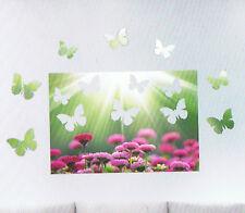 3D-Blumenwiese, Wandbild, Wandtattoo, Wandaufkleber, Badezimmer, TOP !!! Neu