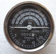 IH International B250, B275, B414, 276, 354, 434, 444,  Kmph Tachometer