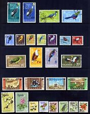UGANDA 1965 - 69 COLLECTION OF 27 FINE USED STAMPS TO 20/- : See Scan