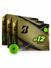 Bridgestone e12 Soft Golf Balls - 1 Dozen Matte Green - Mens