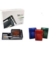 NEW Powermatic 2 II+Electric Cigarette Injector Machine+3pk 85mm Cigarette Case