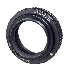 M42 to M42 12mm-17mm Adjustable Focusing Helicoid Adapter Macro Tube M42-M42